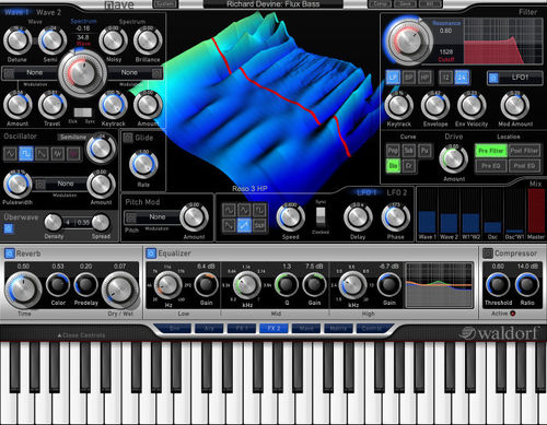 Waldorf Nave, synthesizer software