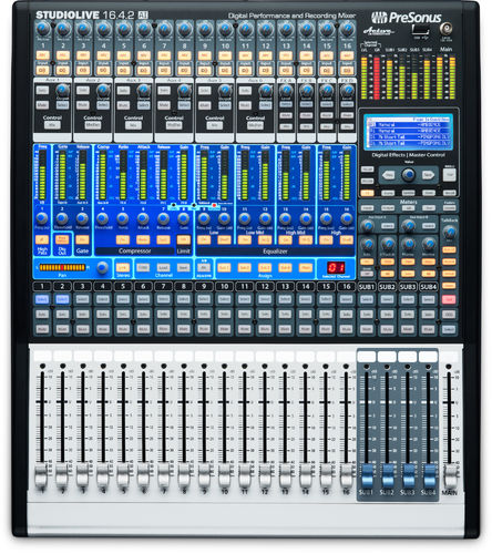 B-stock Presonus StudioLive 16.4.2AI, 16-channel-Digitalmixer with Active Integration