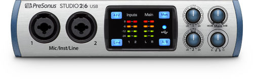 Presonus Studio 26, 2x4 USB 2.0 Audio Interface