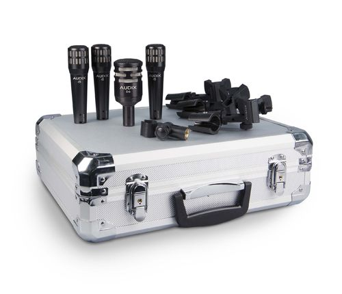 Audix DP4, 4-piece Drum Microphone Package, Uitverkoop