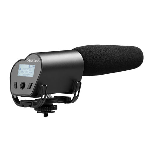 Saramonic Vmic Recorder, camera microphone with WAV recorder